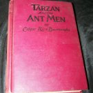 Vintage 1940s TARZAN AND THE ANT MEN by Edgar Rice Burroughs Grosset & Dunlap Book