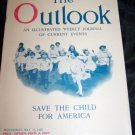 Vintage OUTLOOK Magazine May 1920 Kindergarten Children