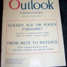 Vintage OUTLOOK Magazine March 1919 Bon Ami Powder Ad