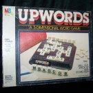 Vintage UPWORDS 3-D Milton Bradley Board Game COMPLETE
