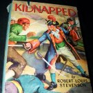 Vintage KIDNAPPED Whitman Robert Louis Stevenson Book