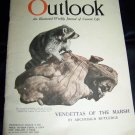 Vintage OUTLOOK Magazine March 9 1921 MARSH ANIMALS