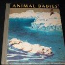 Vintage 1949 ANIMAL BABIES Margaret Jean Bauer HC Children's Book