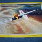 Vintage LOCKHEED SUPERSONIC RAMJET MISSILE Frame-Tray Puzzle