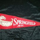Vintage 1950s SPRINGFIELD MO MISSOURI Souvenir Pennant