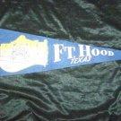 Vintage 1950s FORT HOOD TEXAS ALAMO Souvenir Pennant