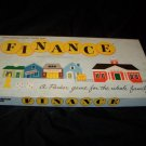 Vintage 1950s FINANCE Parker Brothers Board Game COMPLETE