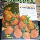 Vintage 1948 STAHELIN NURSERY Fruit Flower SEED CATALOG