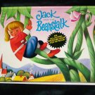 Vintage 1983 JACK AND THE BEANSTALK, All Action Pop-up Children's Book~Vojtech Kubasta