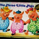 Vintage 1983 THREE LITTLE PIGS, All Action Pop-up Children's Book~Vojtech Kubasta