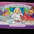 1994 ALICE IN WONDERLAND, Pop-up Storybook Children's Book~Grandreams