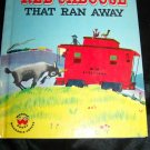 Vintage 1950s LITTLE RED CABOOSE WHO RAN AWAY Wonder Book