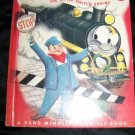 Vintage 1954 CHOO-CHOO Little Switch Engine Elf Book