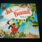 Vintage JACK AND THE BEANSTALK Turkey in Straw Cricket 45 Record