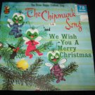 Vintage Three Happy Crickets Sing THE CHIPMUNK SONG Merry Christmas Cricket Cx-18 78 Record