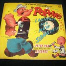 Vintage POPEYE LAUNCHES HIS NEW SONG Peter Pan 78 Record