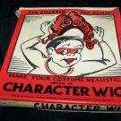 Vintage 1950 HALLOWEEN Character Costume Wig Dutch Girl