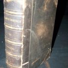 Antique ATLANTIC MONTHLY LVIII #58 1886 Leather Book