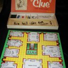 Vintage 1956 CLUE Detective Board Game COMPLETE PB 50s
