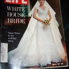 Vintage LIFE Magazine June 18 1971 WHITE HOUSE BRIDE Tricia Nixon
