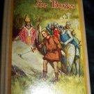 Vintage KING ARTHUR FOR BOYS Henry Gilbert Book Saalfield, Illustrated Frances Brundage