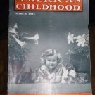 Vintage AMERICAN CHILDHOOD Magazine March 1947 EASTER