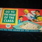Vintage 1969 GO TO THE HEAD OF CLASS Board Game #15 Milton Bradley
