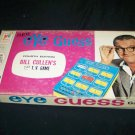Vintage 1966 EYE GUESS Board Game Milton Bradley Bill Cullin TV Show