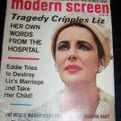 Vintage MODERN SCREEN Jun 1965 Liz Taylor, Elvis, Beatles,Sean Connery Magazine