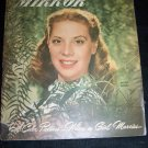 Vintage RADIO MIRROR May May 1947 Dinah Shore Magazine