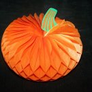 Vintage HALLOWEEN Honeycomb Pumpkin Japan Decoration