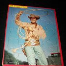 Vintage BUFFALO BILL JR Built Rite Frame Tray Puzzle
