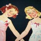 Vintage Merrill B FOR BETSY C FOR CAROL Paper Doll Lot