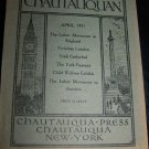 Antique THE CHAUTAUQUAN Magazine April 1911 Democratic England