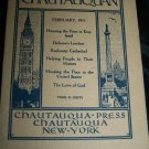 Antique THE CHAUTAUQUAN Magazine February 1911 Democratic England