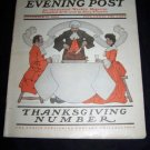 Antique SATURDAY EVENING POST Magazine Guernsey Moore