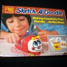 Vintage 1987 SKETCH A DOODLE Ohio Art Drawing Toy WORKS