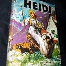 Vintage 1940s HEIDI Johanna Spyri Childrens Book HC/DJ