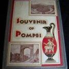 Vintage 1940s Italy SOUVENIR OF POMPEI Postcard Book Lot