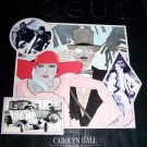 The Twenties in Vogue by Carolyn Hall (1985, Hardcover) Book