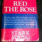 Vintage 1934 SO RED THE ROSE by Stark Young HC/DJ Book