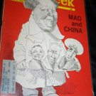Vintage NEWSWEEK Magazine Aug 8 1966 MAO ZEDONG China