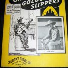 Vintage 1935 Black Americana OH DEM GOLDEN SLIPPERS Gene Autry Sheet Music