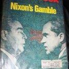 Vintage NEWSWEEK Magazine May 22 1972 NIXON'S GAMBLE