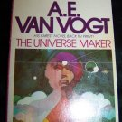 Vintage The Universe Maker (1976) A.E. Van Vogt PB Book