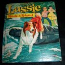 Vintage 1960 LASSIE FINDS A GRIEND Whitman HC Book