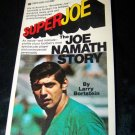 Vintage 1969 SUPER JOE NAMATH Larry Bortstein 1st Book