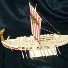 Vintage 1960s Plastic VIKING SHIP Model Toy Aurora?
