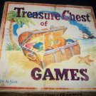 Vintage 1953 Treasure Chest of 15 Games In Action Board Game
