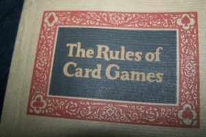 Antique 1926 Hoyle's Rules for Card Games Book NY Consolidated Card Co